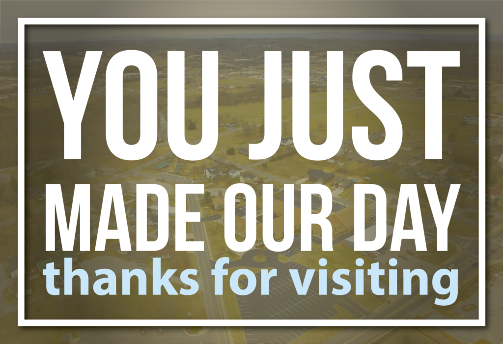 You just made our day! Thanks for visiting!