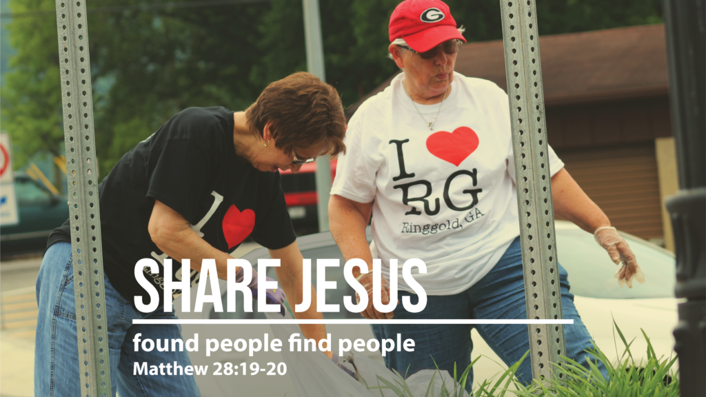 Share Jesus - Found People Find People